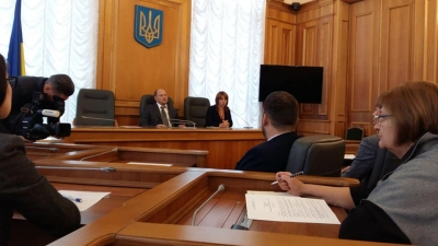 "Round table on ""Legislative issues of mobbing and bullying in Ukraine""."